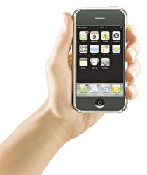 apple iphone en mano